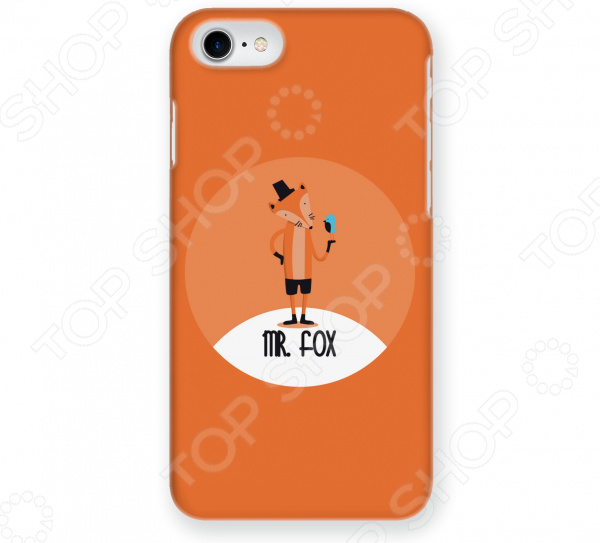 Чехол для iPhone 5 Mitya Veselkov Mr. Fox fantastic mr fox