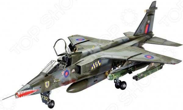 Сборная модель истребителя Revell Sepecat JAGUAR GR.1A ВВС Великобритании сборная модель italeri самолет jaguar gr 1 0067
