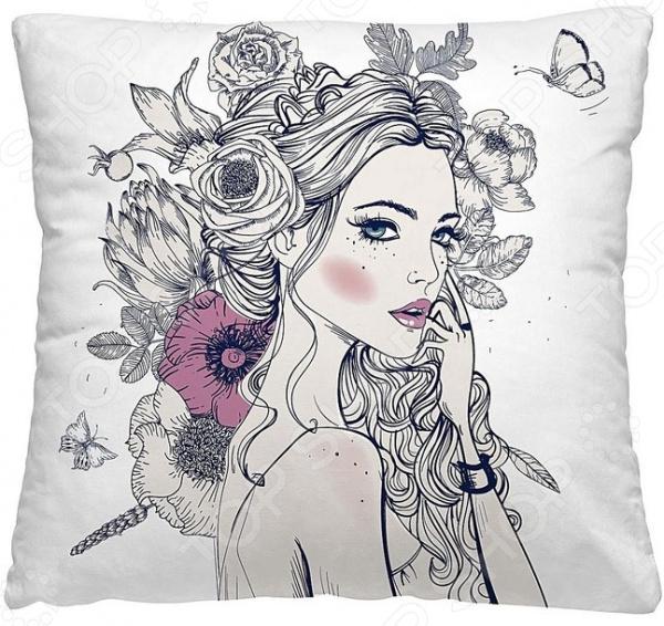 Подушка декоративная Волшебная ночь «Эльвира»