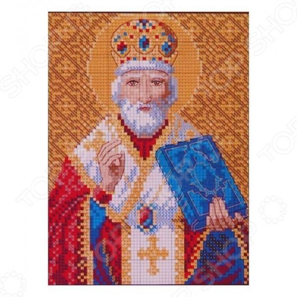 Набор для творчества MILATO «Алмазная мозаика. Икона св. Николая Чудотворца»