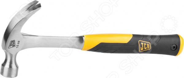 Молоток-гвоздодер JCB с двухкомпонентной виброгасящей рукояткой