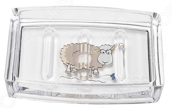 Мыльница Tatkraft Acryl Funny Sheep крючок двойной tatkraft mega lock на вакуумном шурупе