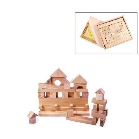 Купить Конструктор деревянный PAREMO «Домик» в деревянном ящике