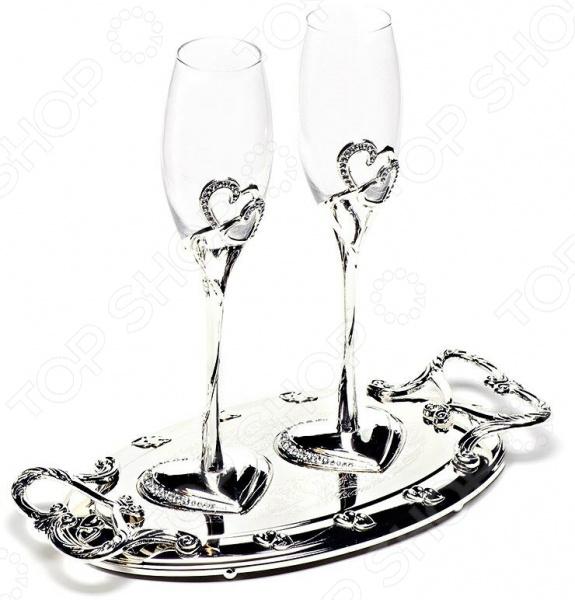 Набор бокалов MARQUIS «Свадьба» 2017-MR кольца для салфеток marquis 3042 mr
