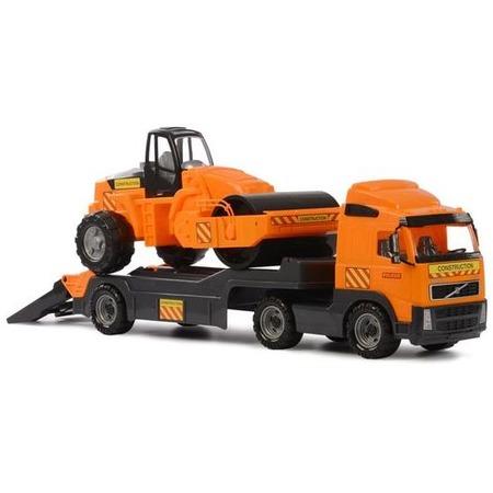 Купить Машина игрушечная с аксессуарами POLESIE Volvo «Дорожный каток»