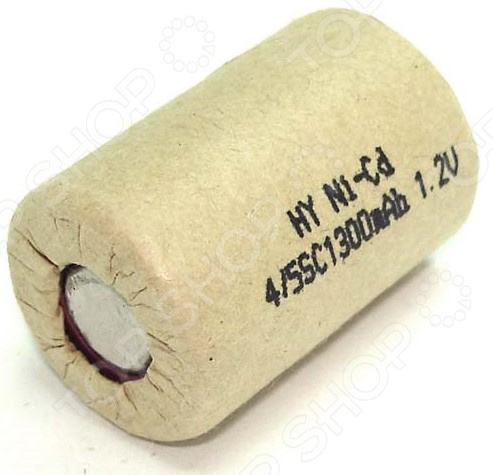 Аккумулятор Ni-Cd для электроинструмента 1300 mAh аккумулятор для hammerflex ni cd acd141b acd142