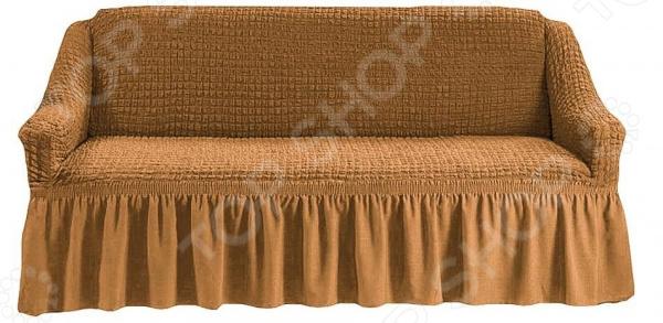 Натяжной чехол на трехместный диван Karbeltex