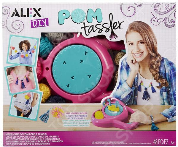 Набор для создания украшений Alex «Помп Тасслер» брюки джинсы и штанишки coccodrillo брюки для девочки family forest