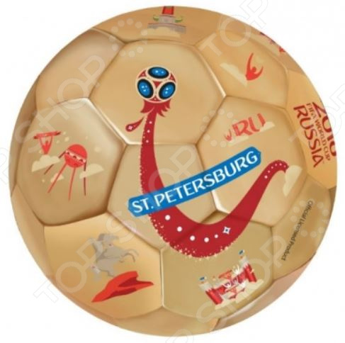 Мяч футбольный FIFA 2018 St. Petersburg valery pikulev st petersburg island phototravel tohistory…