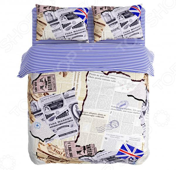 Zakazat.ru: Комплект постельного белья Сирень «Вырезки». Евро