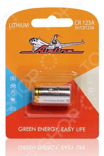 Батарейка литиевая Airline CR123A элемент питания airline cr2032 01
