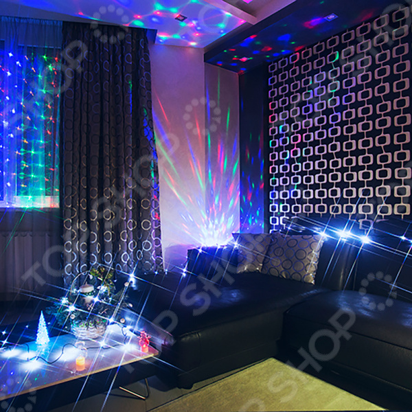 Комплект новогодних украшений Neon-Night «Гостиная»