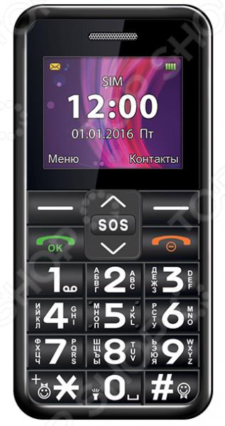 Мобильный телефон Texet ТМ-101