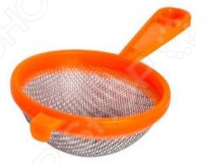 Сито Хозяюшка с пластиковой ручкой «Мила» 36060 контейнеры для заморозки ягод и овощей хозяюшка мила 1 л 5 шт