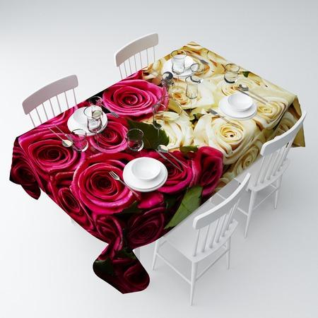 Купить Скатерть Сирень «Контраст оттенков»