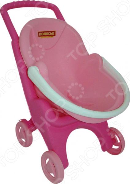 Коляска для куклы Полесье Pink Line