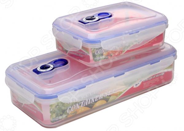 Набор контейнеров для продуктов Queen Ruby QR-8583