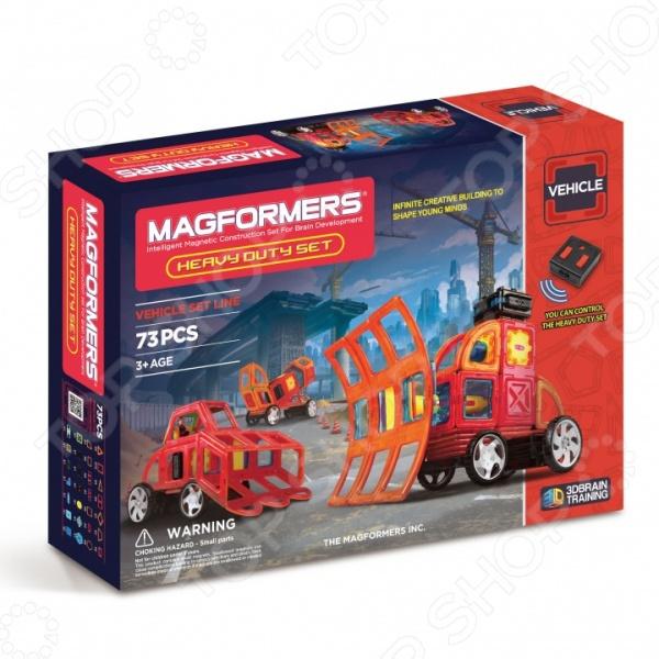Конструктор магнитный Magformers Heavy Duty Set  magformers magformers магнитный конструктор heavy duty set