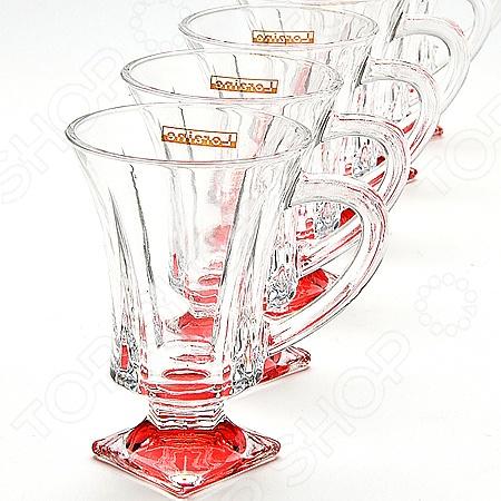 Набор стаканов Loraine LR-20220 масленка loraine lr 22444 розы в ассортименте