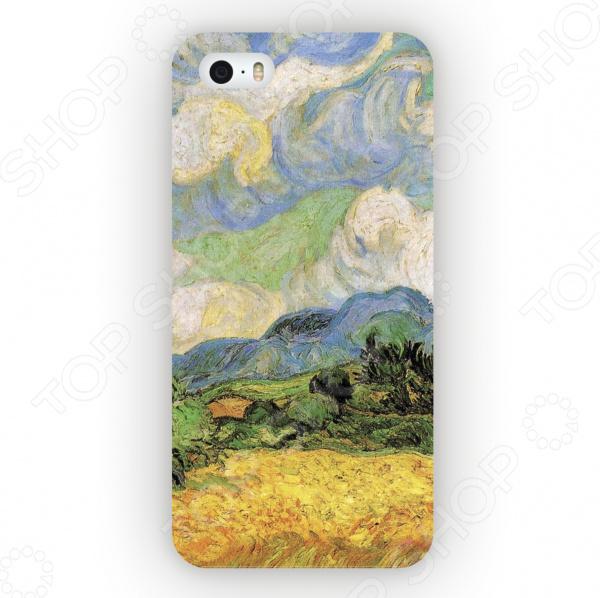 Чехол для iPhone 5 Mitya Veselkov «Ван Гог: Пшеничное Поле» чехол для iphone 5 mitya veselkov ван гог ночь над роной