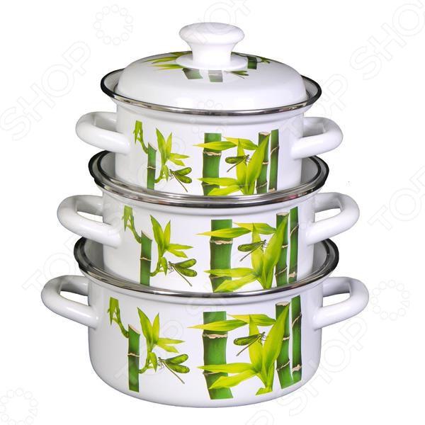 Набор посуды «Бамбук»