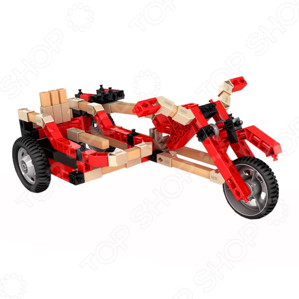 Конструктор-игрушка Engino Eco Builds «Гоночные машины с мотором» solar power машины engino