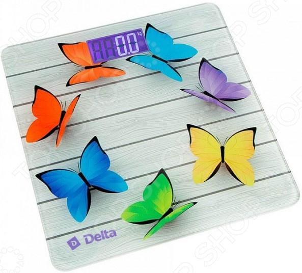 фото Весы Delta D-9218 «Радужные бабочки», купить, цена