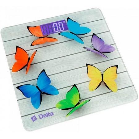 Купить Весы Delta D-9218 «Радужные бабочки»