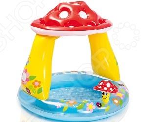 Бассейн надувной детский Intex «Гриб» надувной бассейн intex бассейн надувной голубой