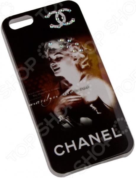 лучшая цена Чехол для iPhone 5/5S/SE Macuus Chanel «Монро»