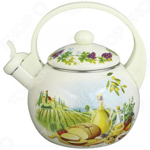 Чайник со свистком Zeidan Z-4185 чайник со свистком zeidan z 4184 чаепитие