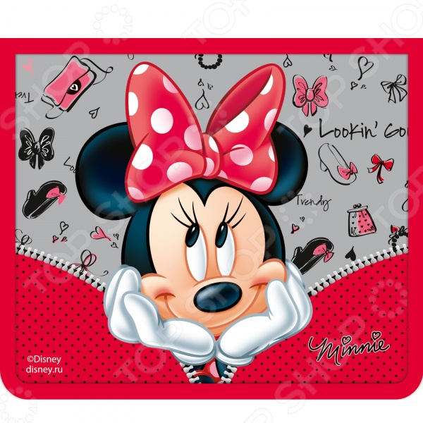 Папка для тетрадей Disney на молнии A5 «Минни»