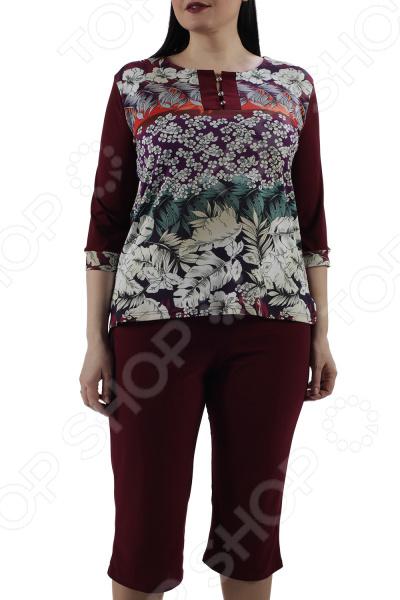 Костюм ТРЕНД «Ласковый закат». Цвет: бордовый платье тренд стильный силуэт цвет бордовый