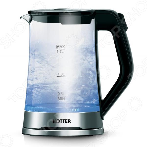 Чайник HOTTER HX-590 аэрогриль hotter hx 1047 universal в минске