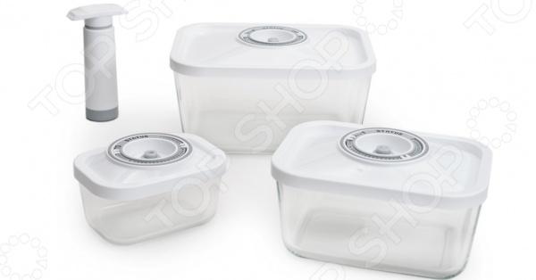 Набор контейнеров вакуумных VAC-Glass-Set