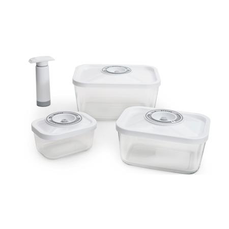 Купить Набор: контейнеры вакуумные и насос STATUS VAC-Glass-Set