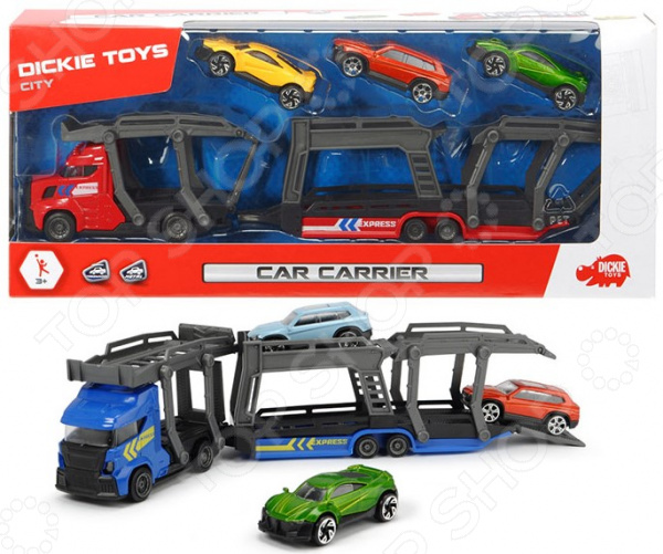 Набор машинок игрушечных Dickie «Автовоз»