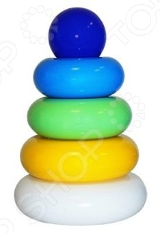 Игрушка-пирамидка Пластмастер «Пухлик»