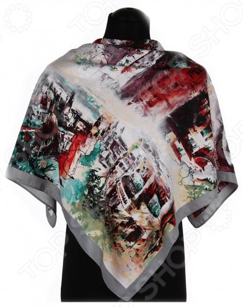 Платок Bona Ventura PL.L-V.8 недорогой платок на шею для женщин