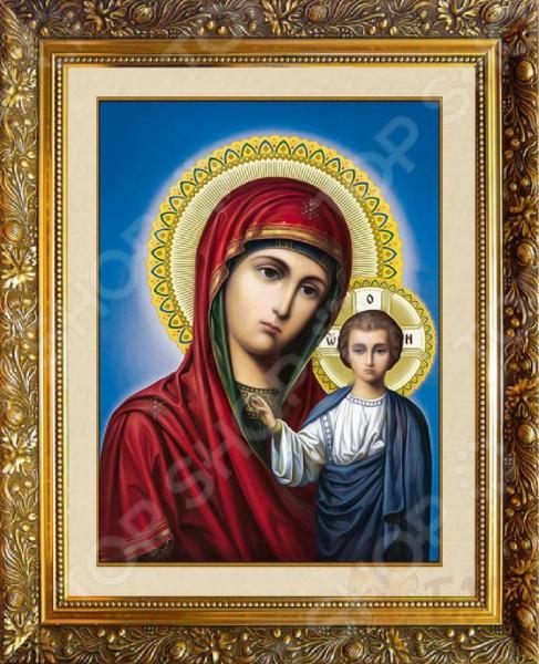 Набор для творчества MILATO «Алмазная мозаика. Икона божьей матери»