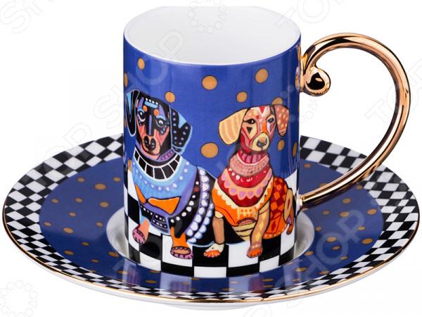Кофейная пара Lefard «Навия-блю» 22-1092