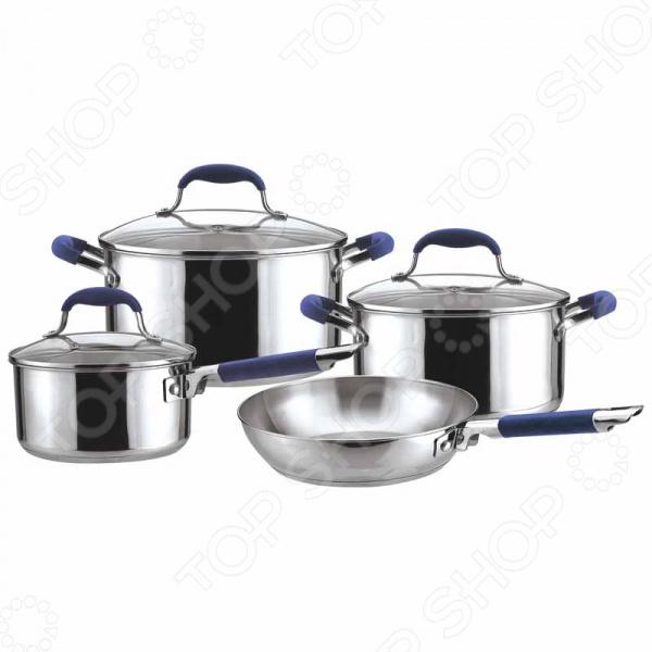Набор посуды Mallony PKS7-03 набор кастрюль mallony pks6 01w