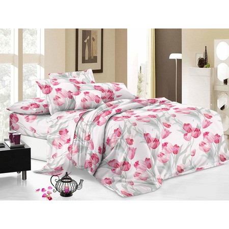 Комплект постельного белья Cleo 027-PC. Евро