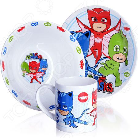 Набор посуды для детей Disney «Герои в масках»
