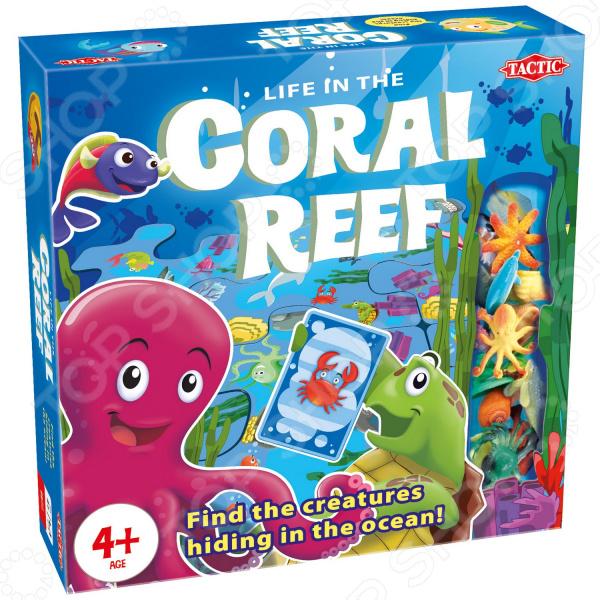 Игра настольная развивающая для детей Tactic «Коралловый риф»