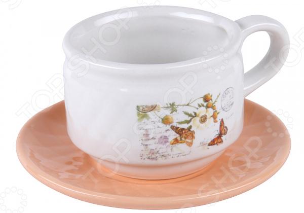 Чайная пара Rosenberg RCE-255001-1 наборы для вышивания сделай своими руками набор для творчества на воздушном шаре
