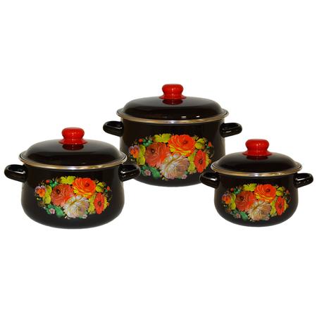 Купить Набор посуды Северсталь «Жостово»