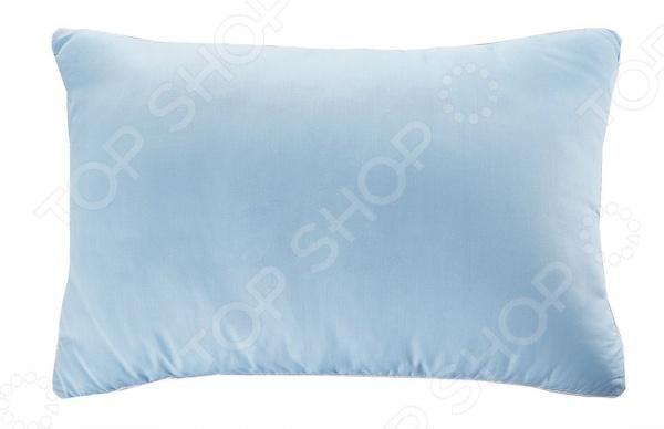 Подушка Подушкино «Лежебока». Цвет: голубой