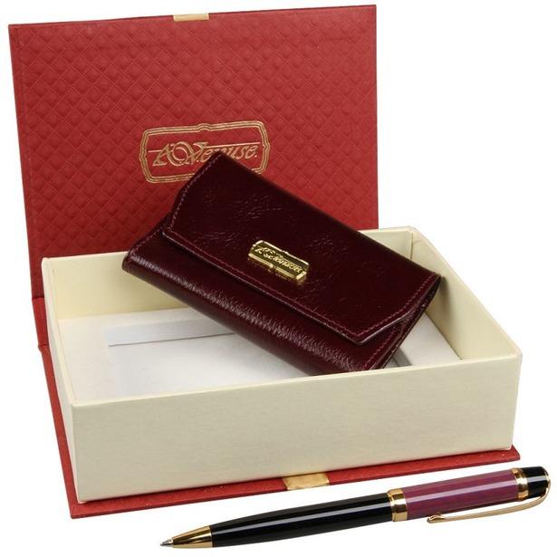 фото Набор: ключница и ручка Venuse 76008
