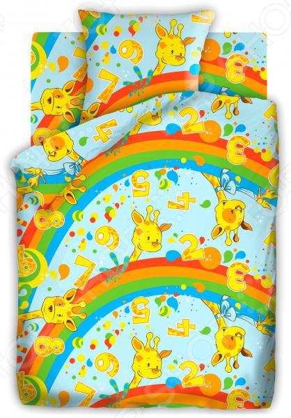 Детский комплект постельного белья Кошки-Мышки «Веселый счет»